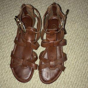 Size 6 gladiator sandals